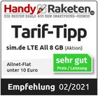 Tarif-Tipp Allnet-Flat unter 10 Euro – Handy-Raketen.de